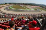 Tribune B, GP Barcelone<br />Circuit de Catalogne Montmelo<br />Grand Prix de Catalogne motos